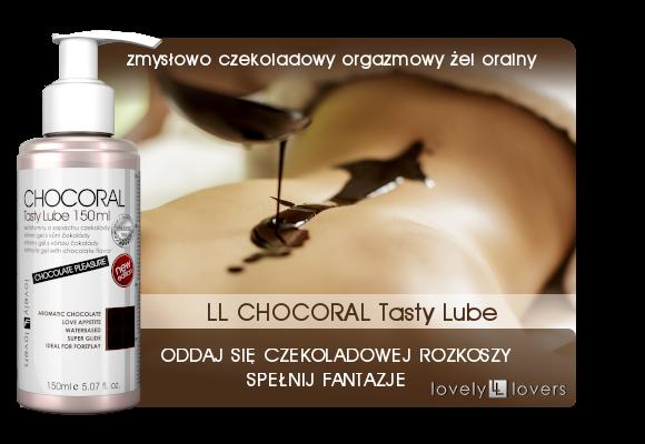 lovely lovers czekoladowy żel oralny chocoral