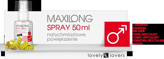 maxilong spray działanie
