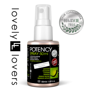 LOVELY LOVERS POTENCY Spray 50ml