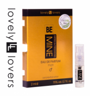 LOVELY LOVERS BeMINE 2ml (0.7 fl. oz.) eau de parfum MAN